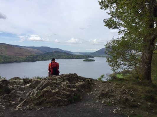 Surprise View, overlooking Derwentwater